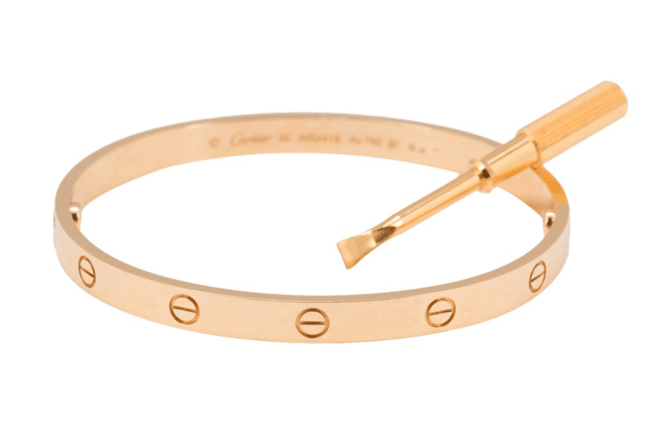 A Brief History of the Cartier Love Bracelet
